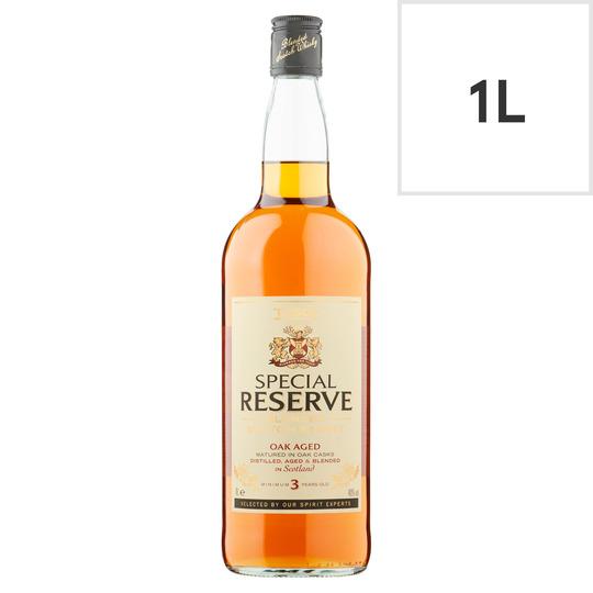 Tesco Special Reserve Scotch Whisky 1L