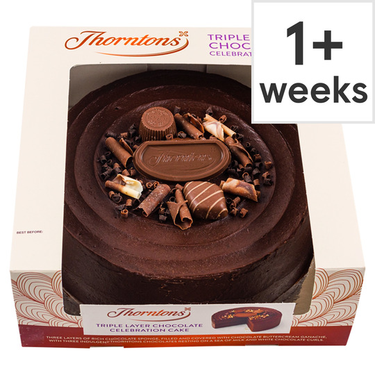 Thorntons Celebration Cake Each