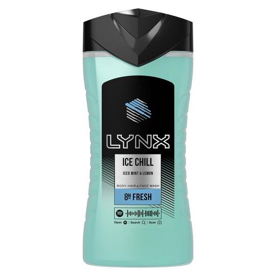 image 1 of Lynx Ice Chill Shower Gel 250Ml