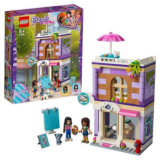 image 1 of LEGO Friends Emma's Art Studio Dollhouse Accessories 41365
