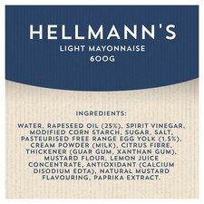 image 2 of Hellmann's Light Mayonnaise 800G