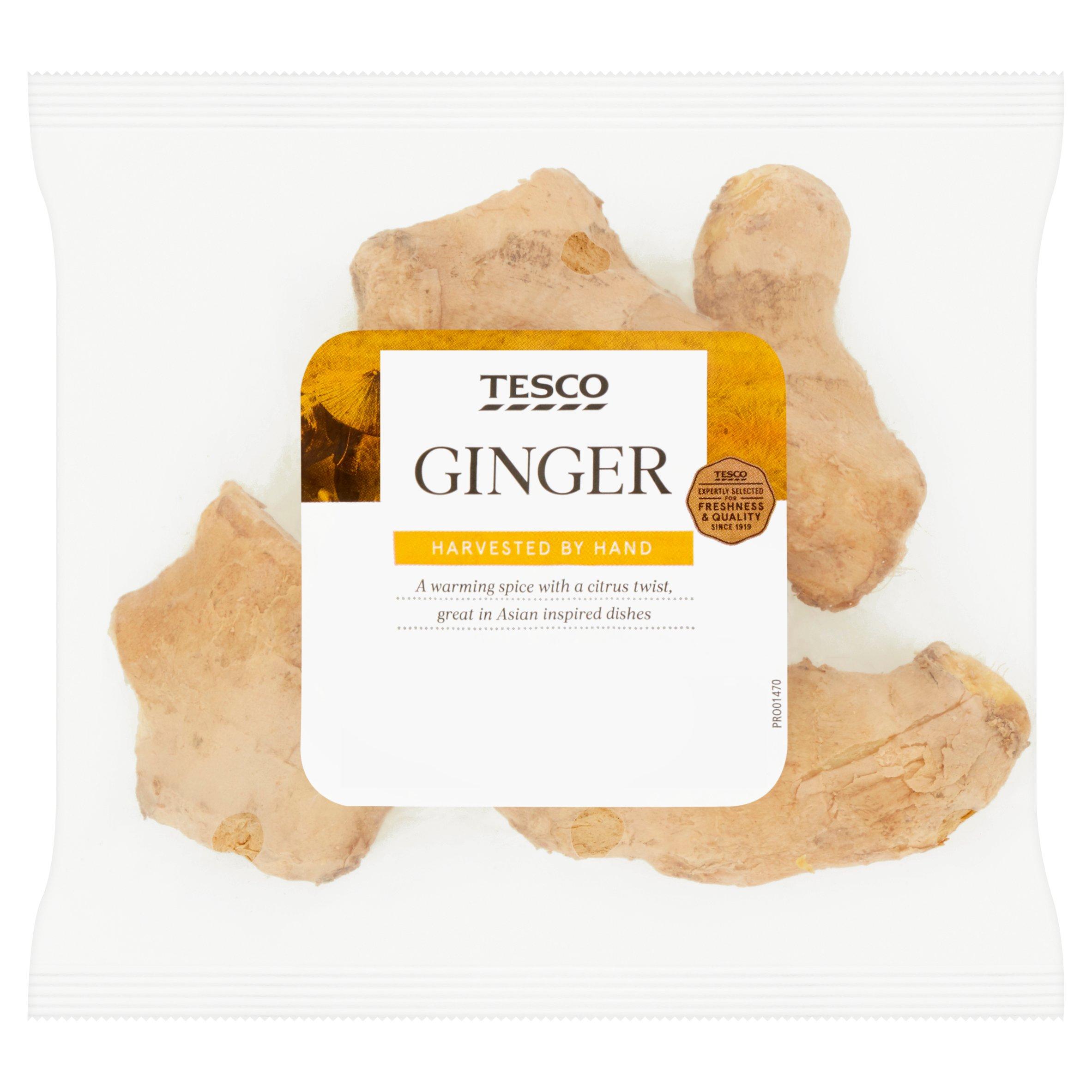 Tesco Ginger 125G