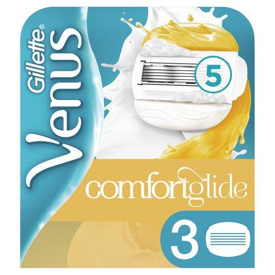 image 1 of Gillette Venus Comfortglide Olay Blades 3 Pack