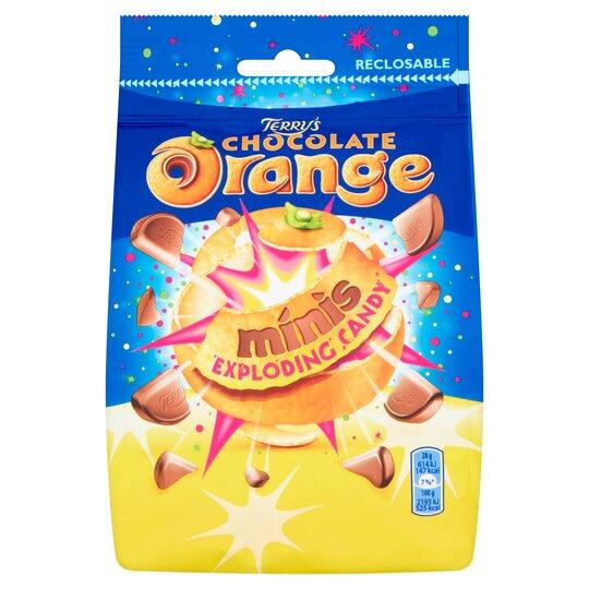 Terrys Chocolate Orange Mini Exploding Candy 125G