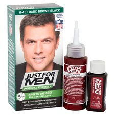 image 2 of Just For Men Hair Colourant Dark Brown/Black