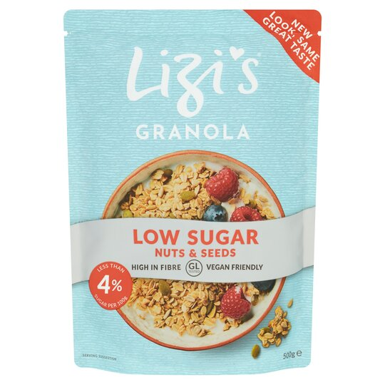 Lizi's Low Sugar Granola 500G