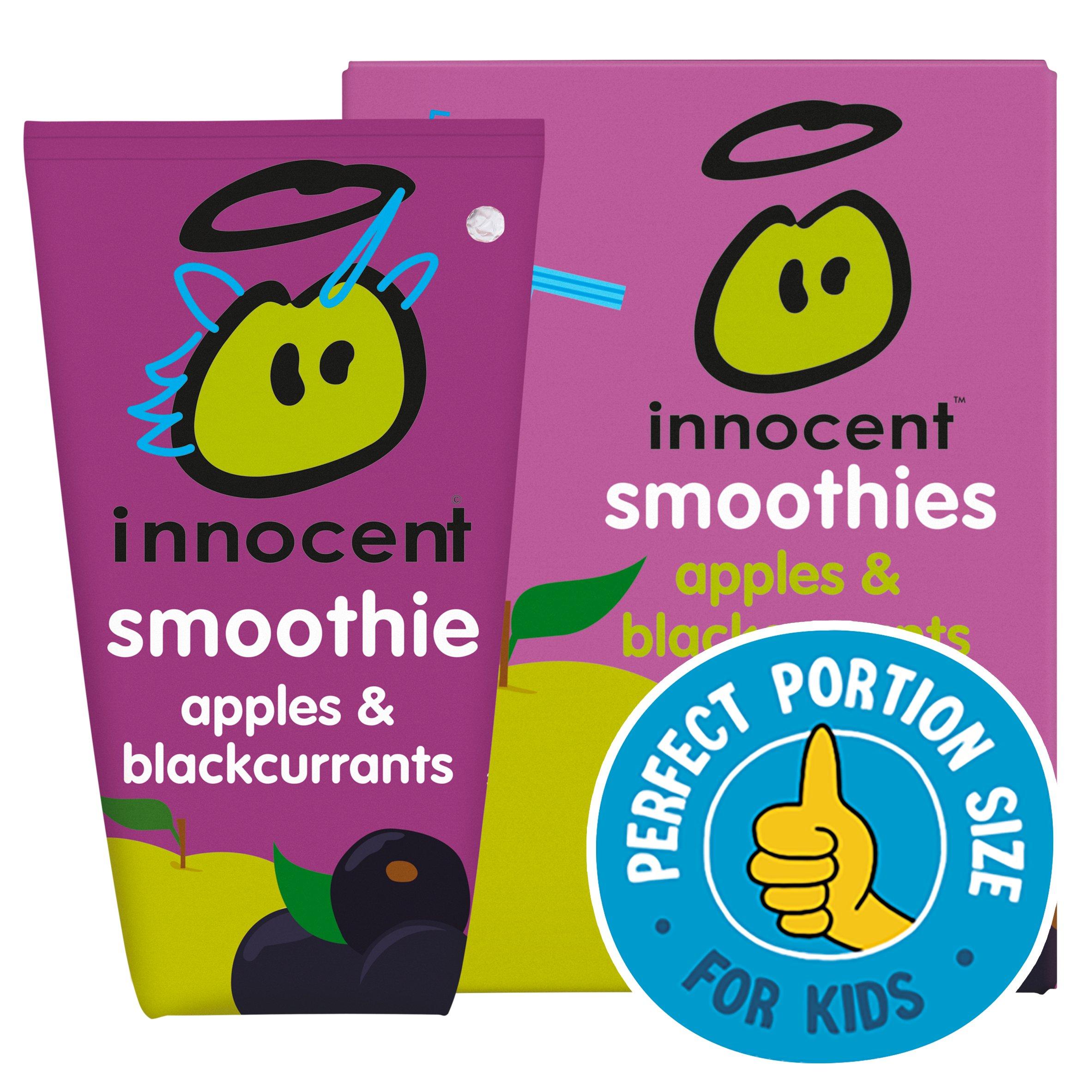 Innocent Kids Smoothies Apple & Blackcurrant 4X150ml