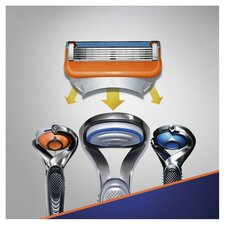 image 3 of Gillette Fusion Razor Blades Refill 8 Pack