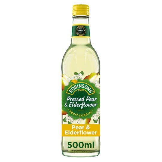 Robinsons Cordials Pear & Elderflower 500Ml