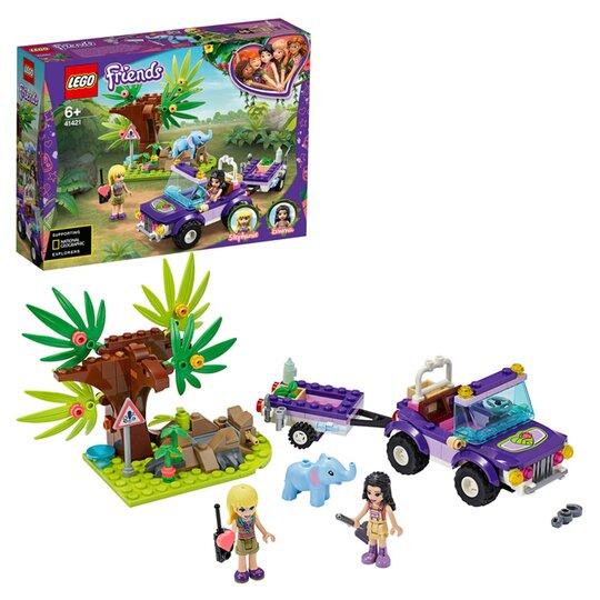 Lego Baby Elephant Jungle Rescue 41421, Purple Elephant Mini Crib Bedding