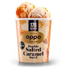image 2 of Oppo Double Salted Caramel Ice Cream 475Ml