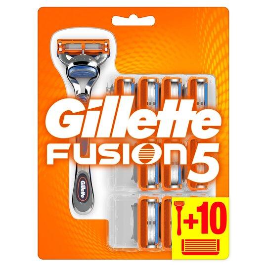 image 1 of Gillette Fusion Razor Plus 10 Blades