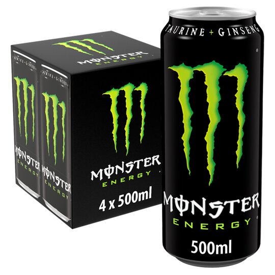 image 1 of Monster Origin Energy Drink 4 X 500Ml