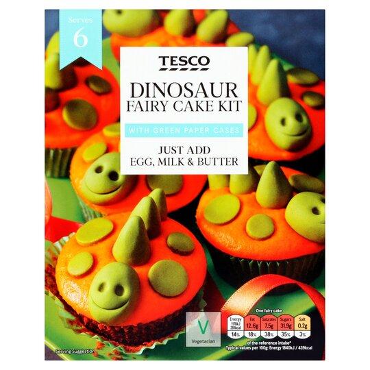 Tesco Dinosaur Fairy Cake Kit 255g