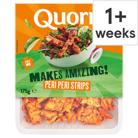 Quorn Vegan Peri Peri Strips 175G