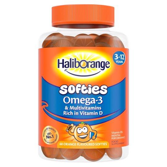Haliborange Omega 3 Softies 60'S