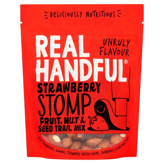 Real Handful Strawberry Stomp Fruit & Nuts 140G