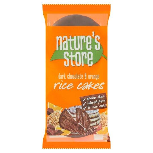 Nature's Store Free From Chocolate Orange Rice Cake 100G