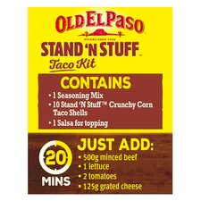 image 2 of Old El Paso Taco Stand 'N' Stuff Paprika & Garlic Kit 312G