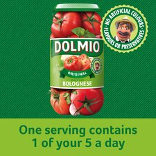 image 3 of Dolmio Original Bolognese Pasta Sauce 750G