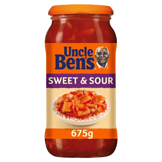Uncle Ben's Sweet And Sour Sauce 675G