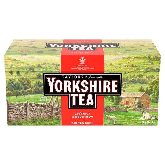 Yorkshire Tea Tea Bags 240'S 750G Pack
