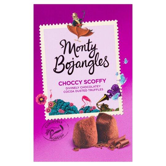 Monty Bojangles Choccy Scoffy Treasure Box 200G
