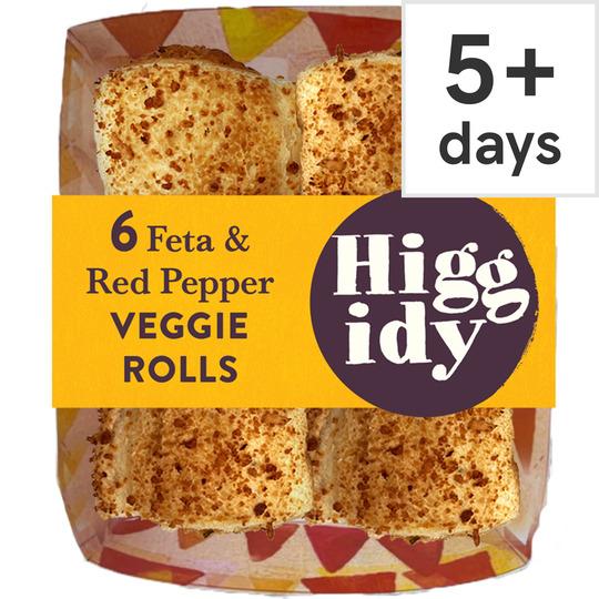 Higgidy Feta & Red Pepper Mini Rolls 160G