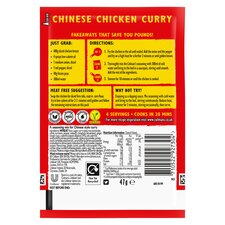 image 2 of Colman's Chinese Chicken Curry Recipe Mix 47G