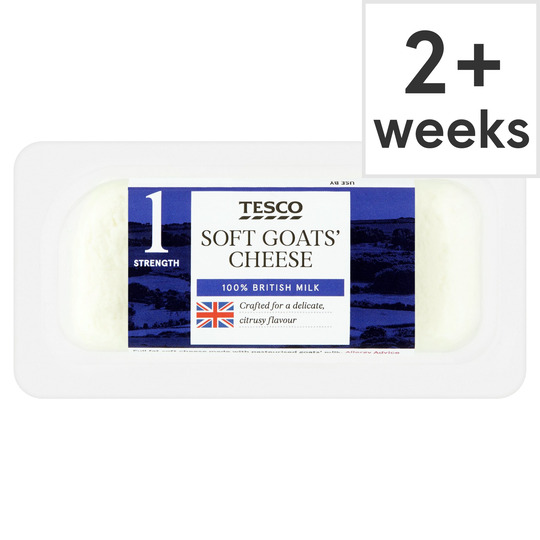British Goats Cheese 125G