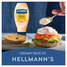 image 4 of Hellmann's Real Squeezy Mayonnaise 430Ml