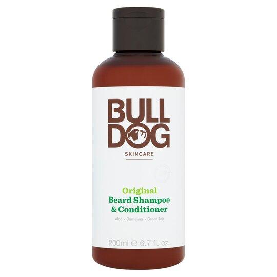 Bulldog 2 In 1 Beard Shampoo & Conditioner 200Ml
