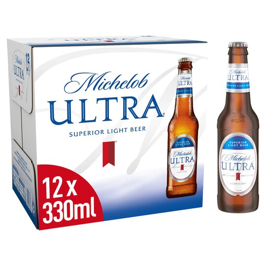 Michelob Ultra Lager 12X330ml Bottle