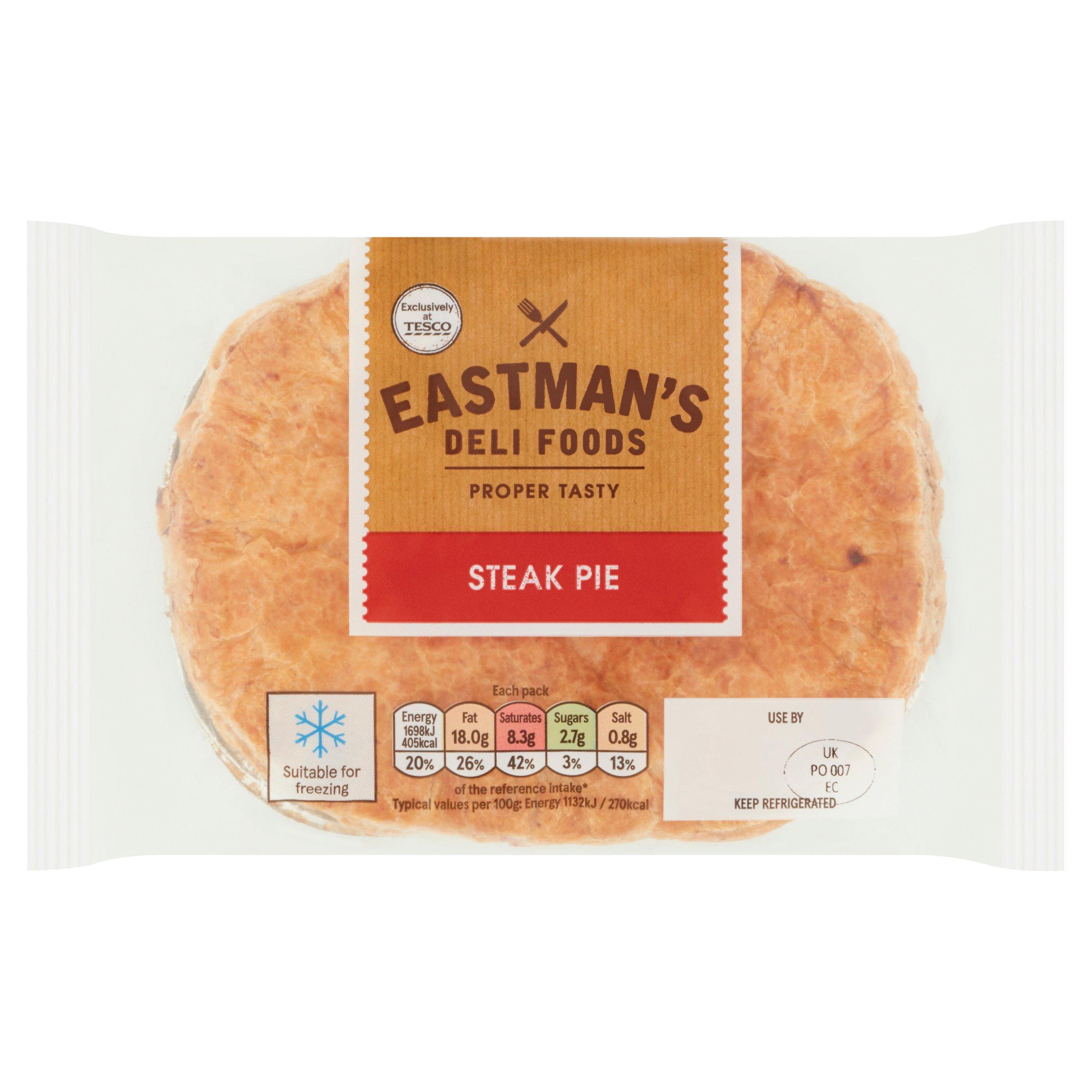 Eastmans Steak Pie 150G