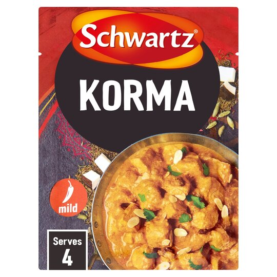 Schwartz Indian Korma 35g Tesco Groceries