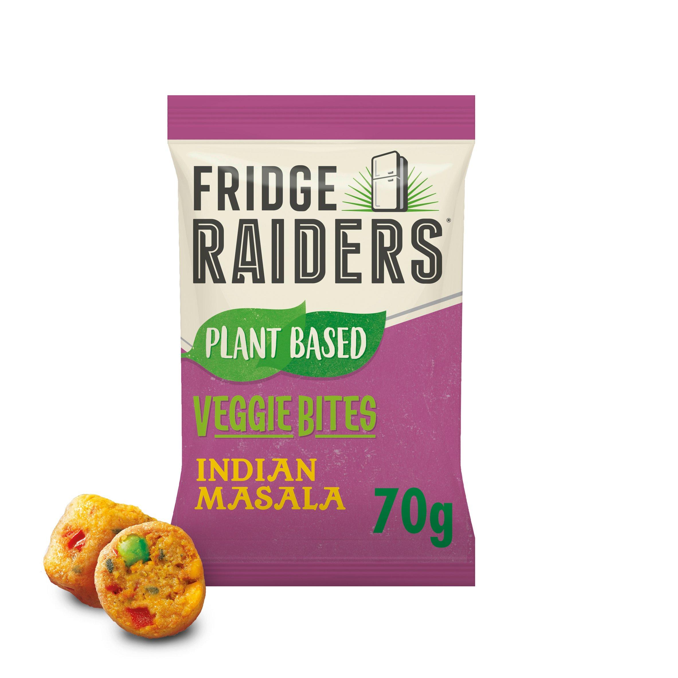 Fridge Raiders Plant Based Indian Masala Bites 70G