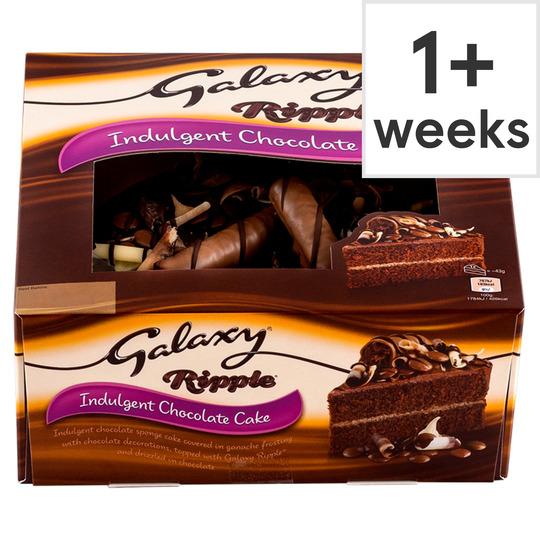 Fabulous Galaxy Ripple Indulgent Chocolate Cake Tesco Groceries Personalised Birthday Cards Vishlily Jamesorg