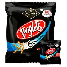 image 2 of Jacobs Twiglets Snacks 6X24g
