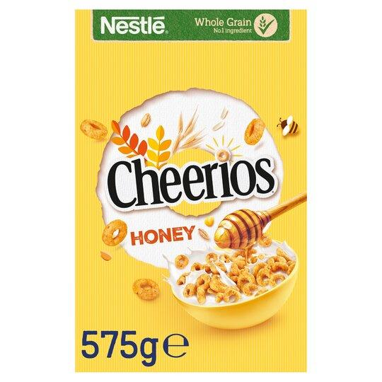 Nestle Cheerios Honey Cereal 575G