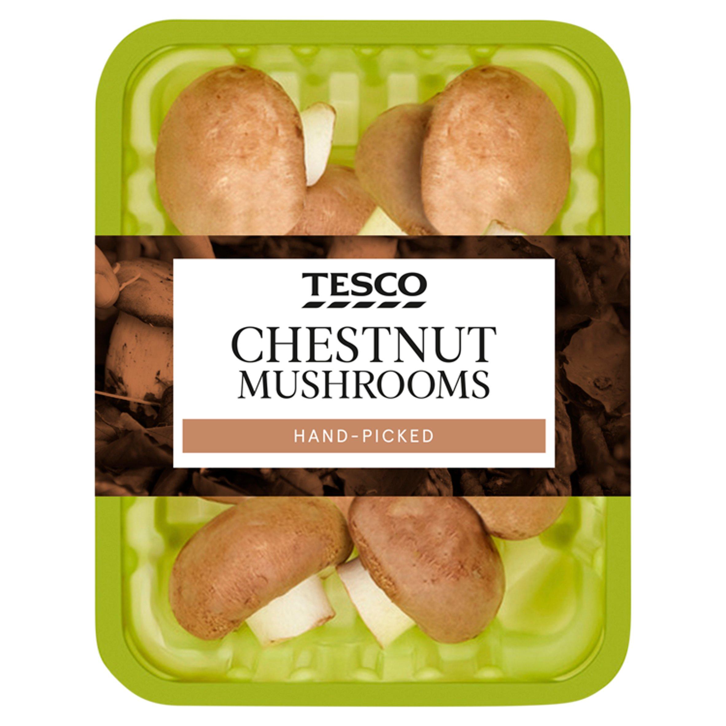 Chestnut Mushrooms 250G