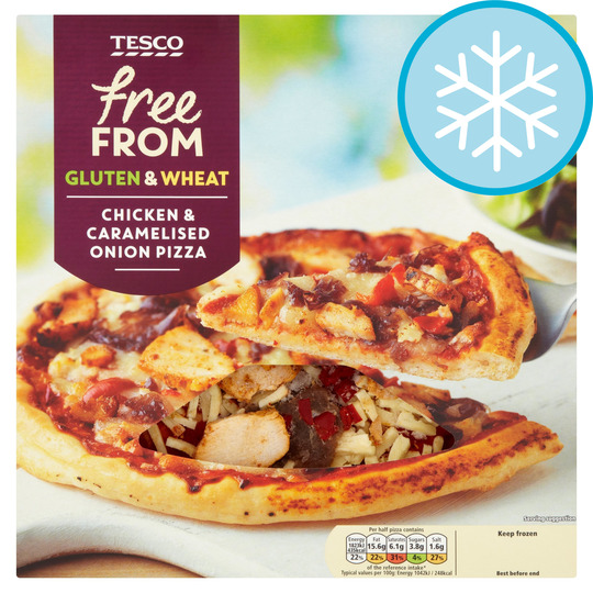 Tesco Free From Spicy Chicken Pizza 330g Tesco Groceries