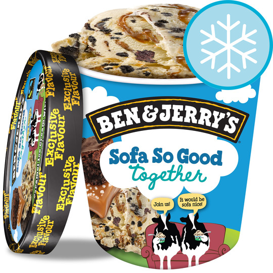 Ben & Jerry's Sofa So Good Ice Cream 500Ml