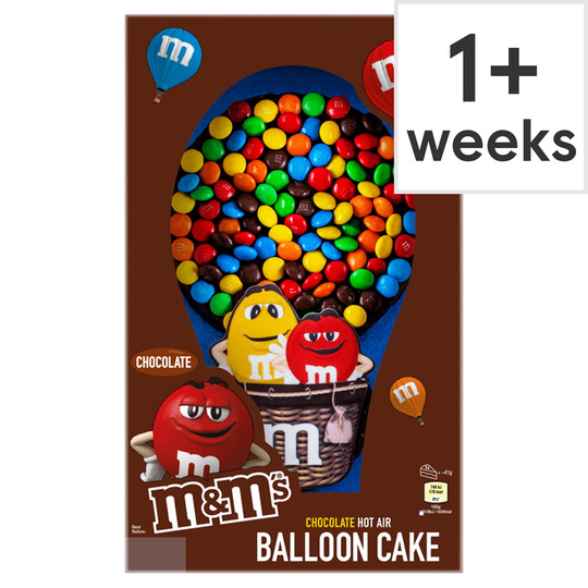 M&M's Chocolate Ballpool Celebration Cake