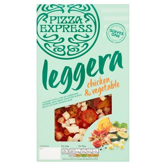 Pizzaexpress Chicken Mediterranean Vegetable Pizza 205g