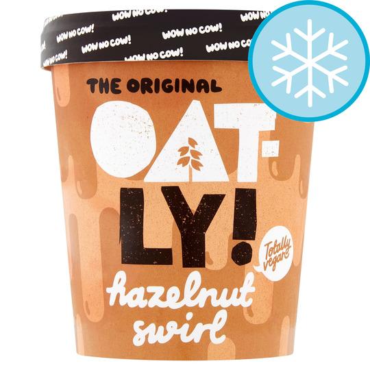 Oatly Hazelnut Swirl Ice Cream 500Ml