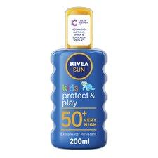 image 1 of Nivea Childrens Sun Spray Spf 50 Plus 200Ml