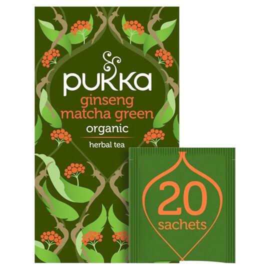 Pukka Organic Ginseng Matcha Green T /Bag 30G