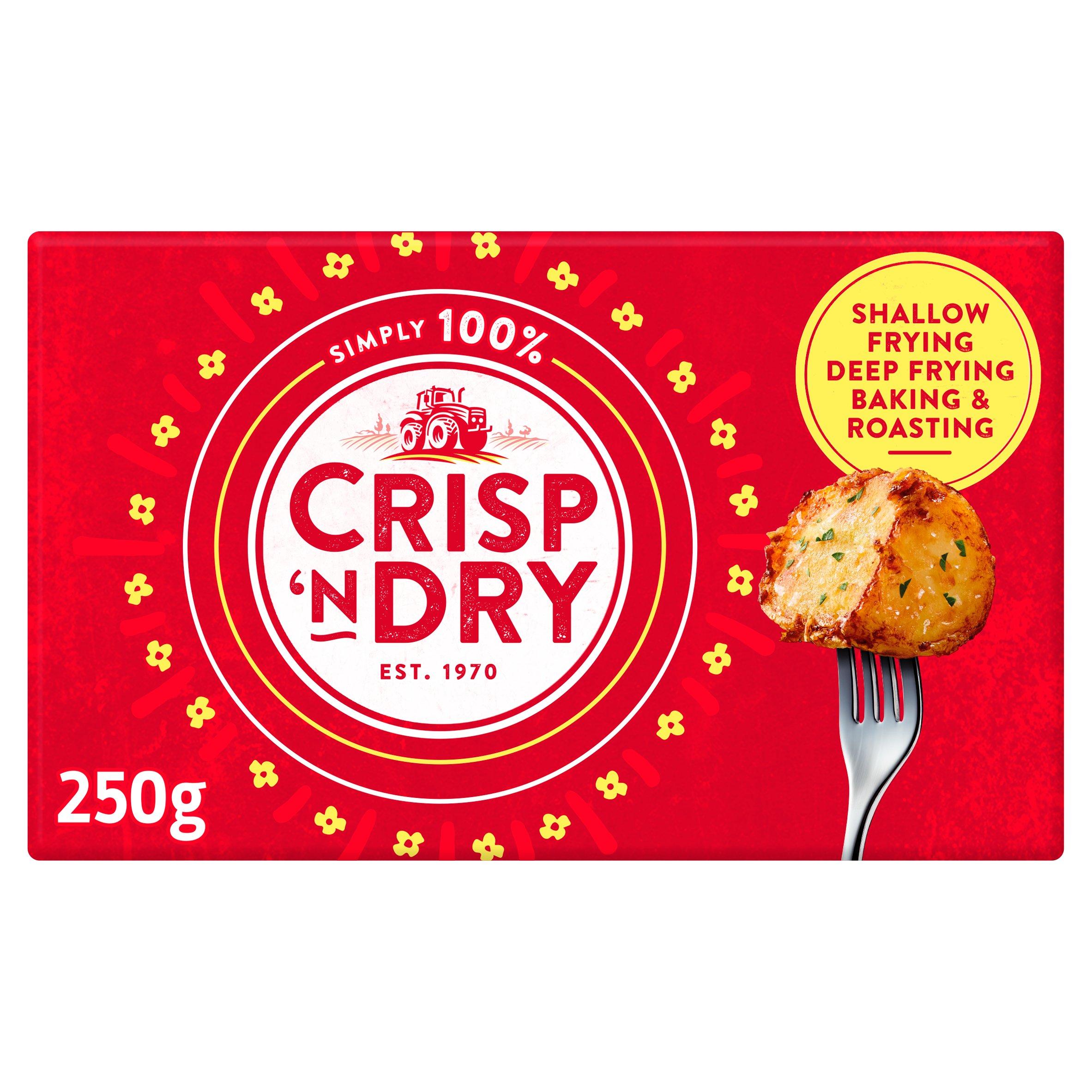 Crisp 'N' Dry Solid Cooking Oil 250G
