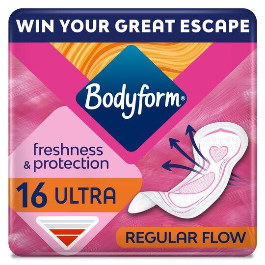 Bodyform Ultra Normal Sanitary Towels 16 Pack