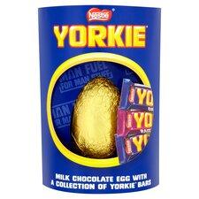 image 2 of Nestle Yorkie Milk Chocolate Easter Egg & Chocolate 336G